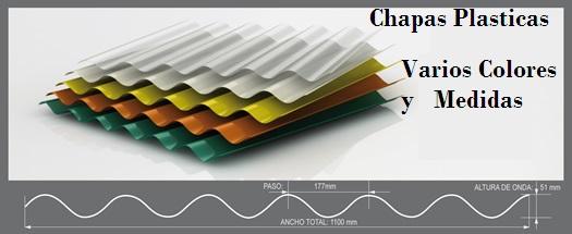 Chapas plasticas for Plastico para tejados