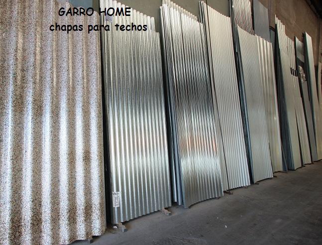 Chapas para techos for Casetas de chapa galvanizada precios