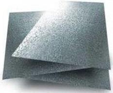 Chapas de zinc galvanizadas