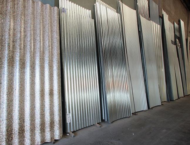 Chapas para techos - Puertas de chapa galvanizada precios ...